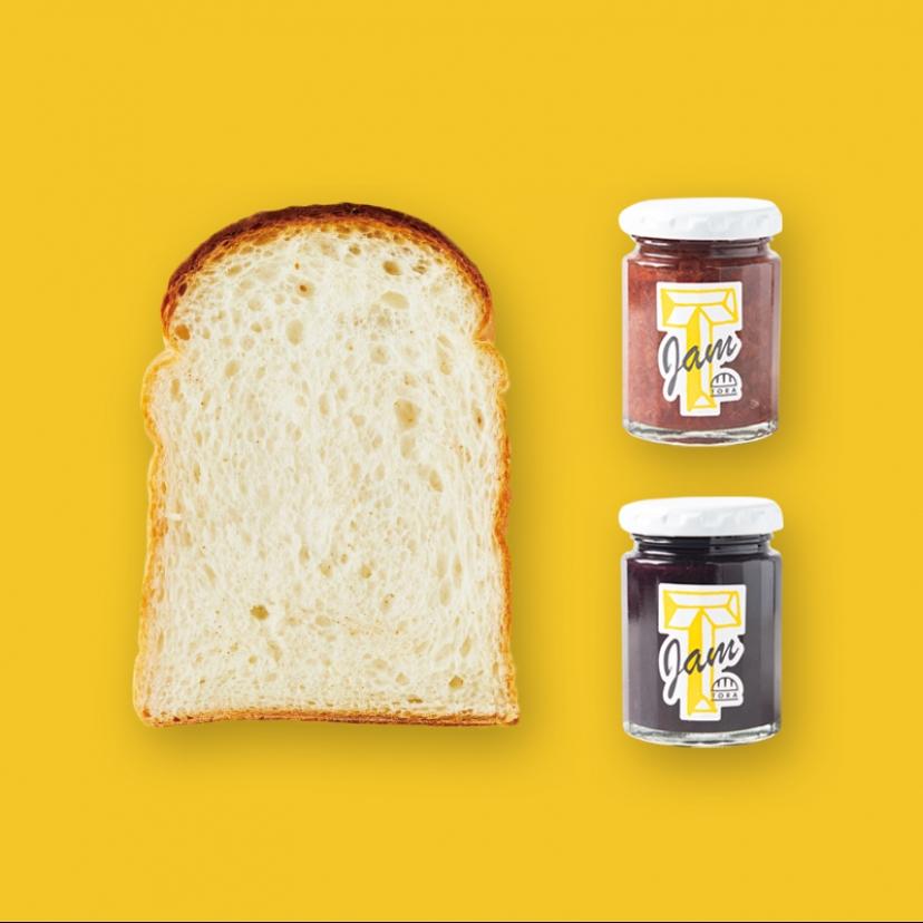 パンのトラ+ジャム セット