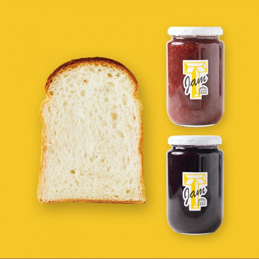 パンのトラ+ジャム(大)セット